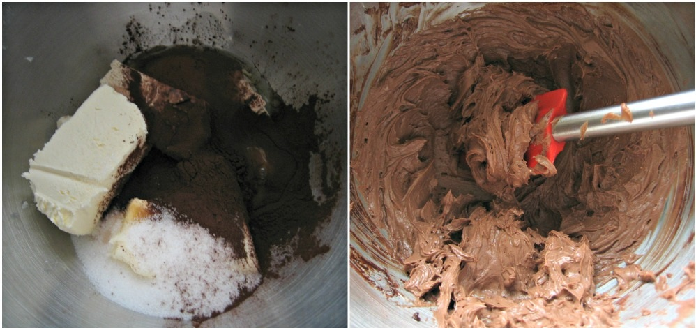 BROWNIE AU CHOCOLAT ET FROMAGE (3)