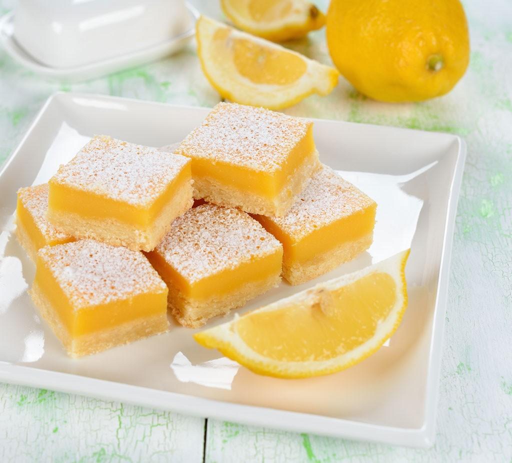 Carrés au citronA