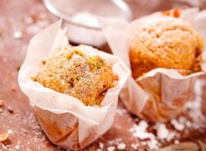 muffin chocolat et pistache