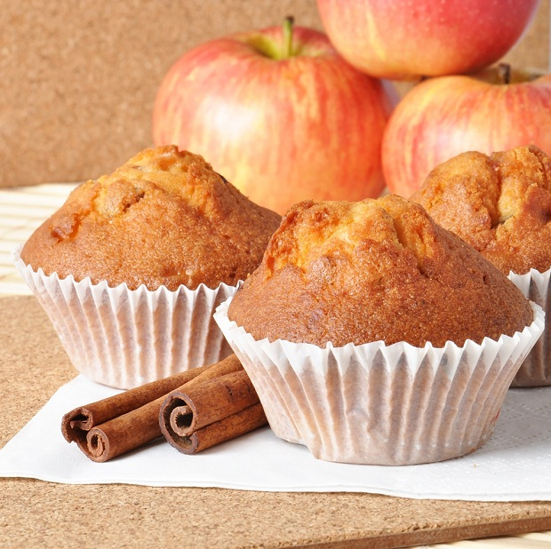 muffin au pommes