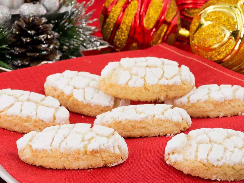 Ricciarelli galletas