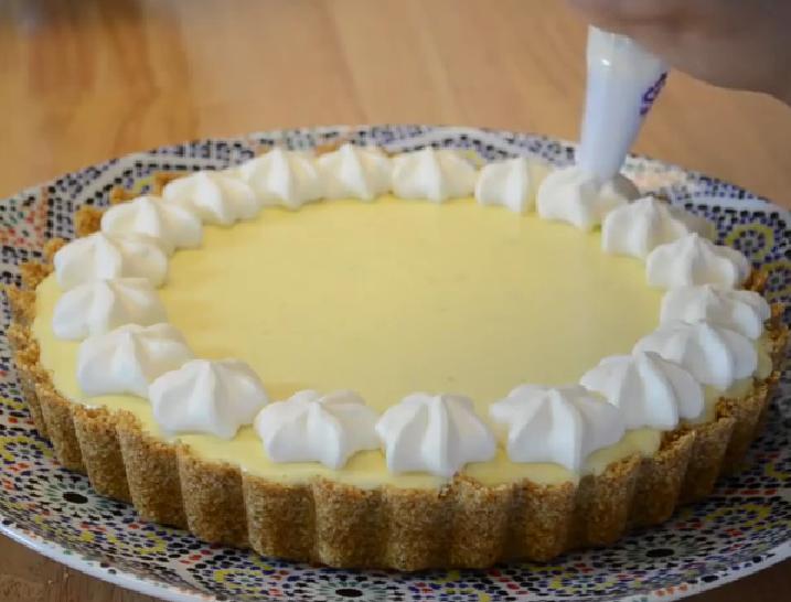 Tarte Au Citron Facile Et Rapide Key Lime Pie Pause