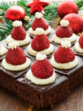 BROwnies de noel. 2jpg