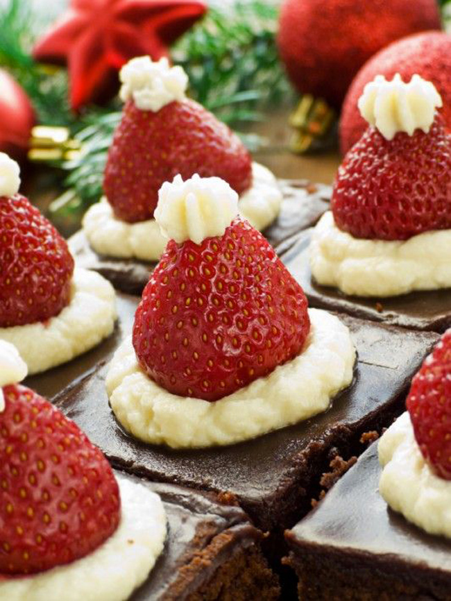 BROwnies de noel. 3jpg