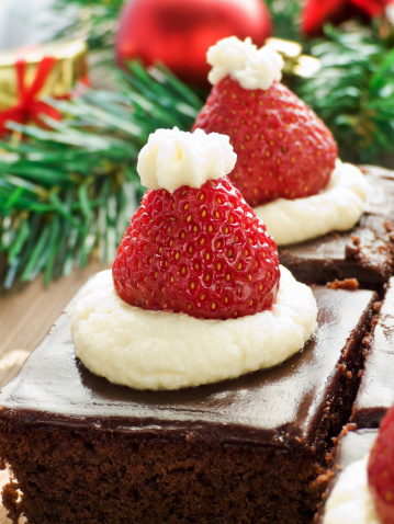 BROwnies de noel