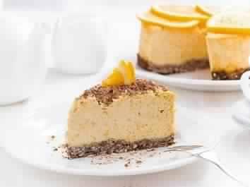 cheesecake à l'orange 1