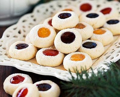 cookies à la confiture. 2jpg